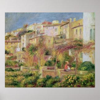 Terraza en Cagnes, 1905 Póster