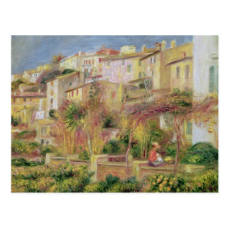 Terraza en Cagnes, 1905 Tarjetas Postales