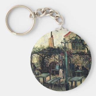 Terraza en el La Guinguette de Montmartre de Van Llavero Redondo Tipo Pin