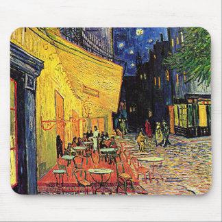 """Terraza"""" Mousepad del café de Vincent van Gogh """""""