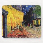 """Terraza"""" Mousepad del café de Vincent van Gogh """" Alfombrilla De Ratones"""