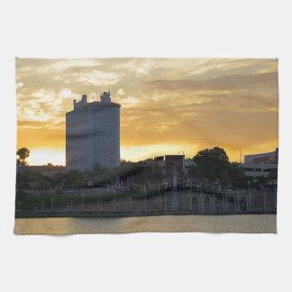 """Terraza y """"promenade"""" toalla"""
