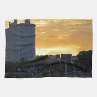 """Terraza y """"promenade"""" toalla de mano"""