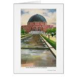 Terrazo Promenade View of Adler Planetarium Card