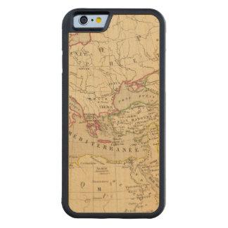Terre aux trois fils de Noe Carved® Maple iPhone 6 Bumper Case