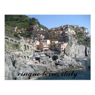 terre del cinque, Italia Tarjetas Postales