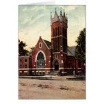 Terre Haute, Indiana First Congregational Church Card