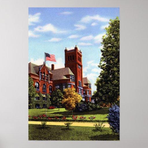 Terre Haute Indiana ISU Impresiones