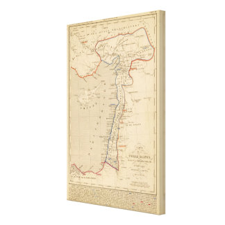 Terre Sainte, croisade pendiente de la premier del Impresión En Lienzo Estirada