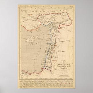 Terre Sainte, croisade pendiente de la premier del Poster