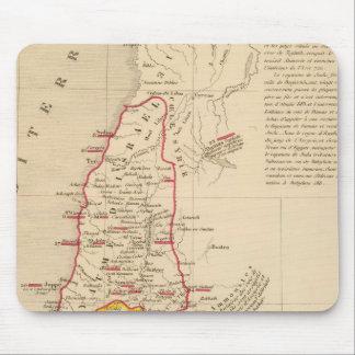 Terre Sainte divisee en royaumes d'Israel Mouse Pad