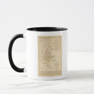 Terre Sainte divisee en royaumes d'Israel Mug