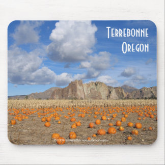 Terrebonne Pumpkins Mouse Pad