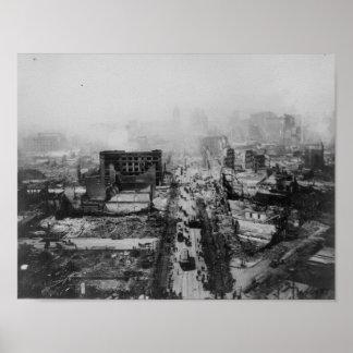 terremoto 1906 San Francisco, California Posters