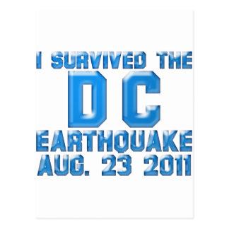 terremoto 2011 tarjeta postal