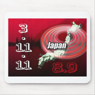 Terremoto de Japón - ayuda Japón Tapetes De Ratones