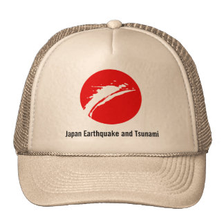 Terremoto de Japón de la ayuda Gorro De Camionero