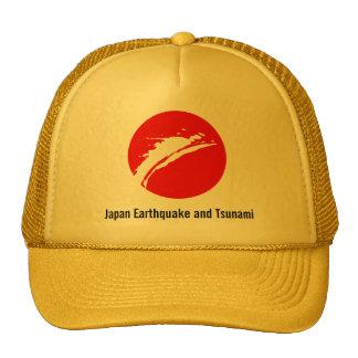 Terremoto de Japón de la ayuda Gorras De Camionero