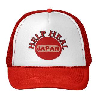 Terremoto de Japón y camisa del tsunami Gorras De Camionero
