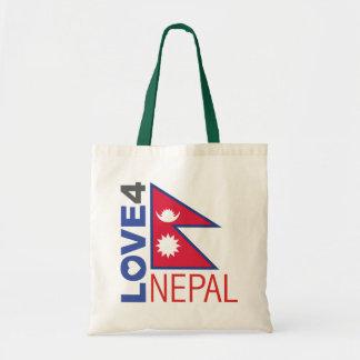 Terremoto de Nepal Bolsa Tela Barata