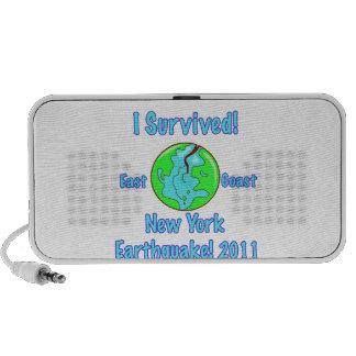 Terremoto de Nueva York de 2011 Portátil Altavoz