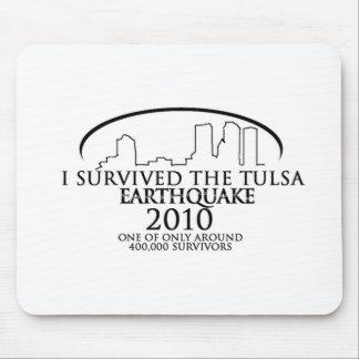 Terremoto de Tulsa Tapetes De Ratón
