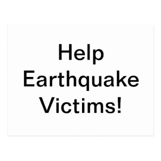 Terremoto Postales