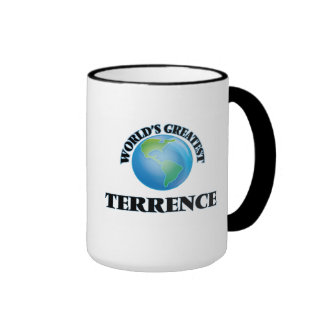 Terrence más grande del mundo taza de dos colores