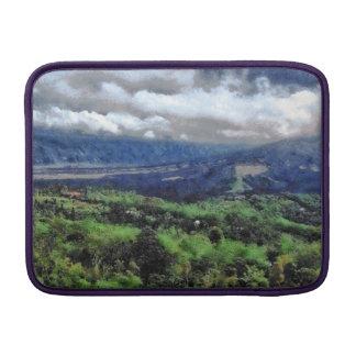 Terreno montañoso funda macbook air