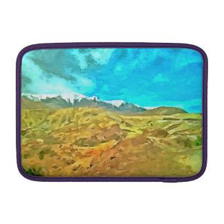 Terreno montañoso fundas MacBook