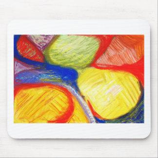 Terrenos de juego en colores pastel (expresionismo tapetes de raton