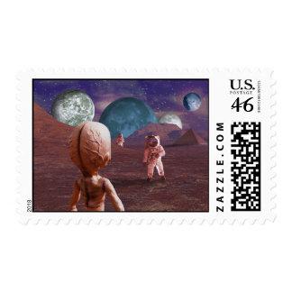 Terrestrial Encounter Stamps