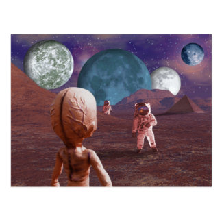 Terrestrial Encounter Postcard