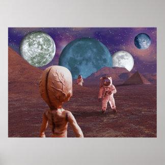 Terrestrial Encounter Poster