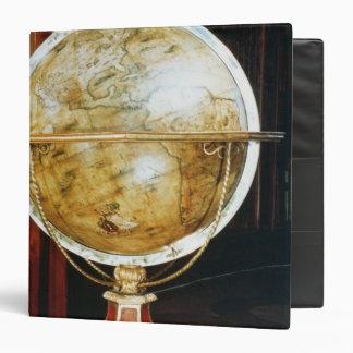 Terrestrial globe 1688 binder