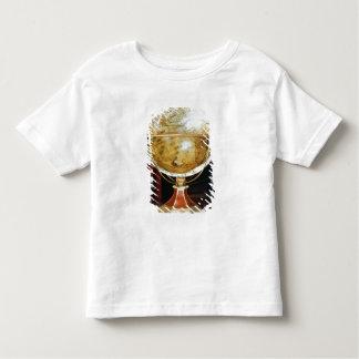 Terrestrial globe, 1688 toddler t-shirt