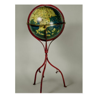 Terrestrial Globe, made in Nuremberg in 1492 Postcard