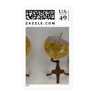 Terrestrial Globe Postage Stamps