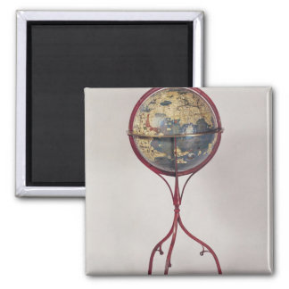 Terrestrial Globe, showing the Indian Ocean 2 Inch Square Magnet