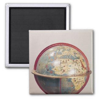 Terrestrial Globe, showing the Indian Ocean Magnet