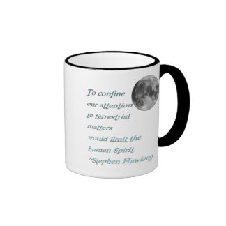 ~*Terrestrial Matters*~ Stephen Hawking Quote Mugs