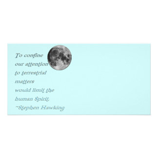 ~*Terrestrial Matters*~ Stephen Hawking Quote Picture Card