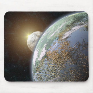 Terrestrial Planet Mouse Pad