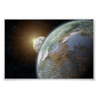 Terrestrial Planet Poster