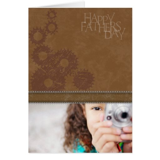 Terri D. Father's Day Photo Greeting Card