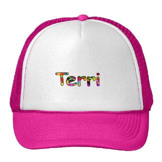 Terri pink trucker hat