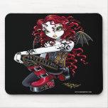 Terri Red Tattoo Fairy Mousepad