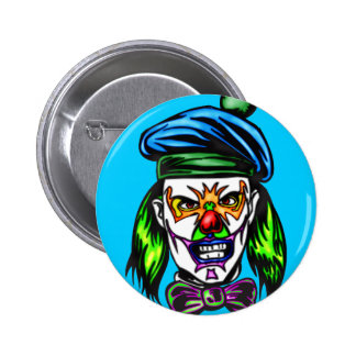 Terrible Evil Clown 2 Inch Round Button