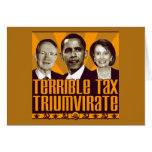 Terrible Tax Triumvirate Card