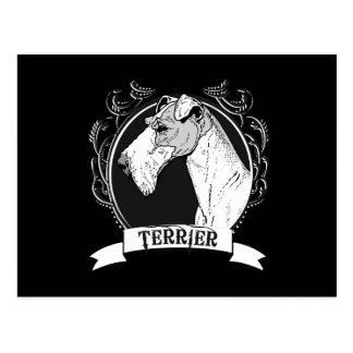 TERRIER (2) TARJETA POSTAL